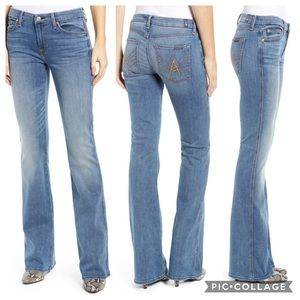 🆕7 for All mankind A pocket flare jeans size 24